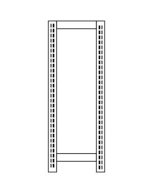 Fiancata Scaffale 30x300.h