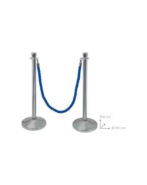 Colonna con cordone zincata